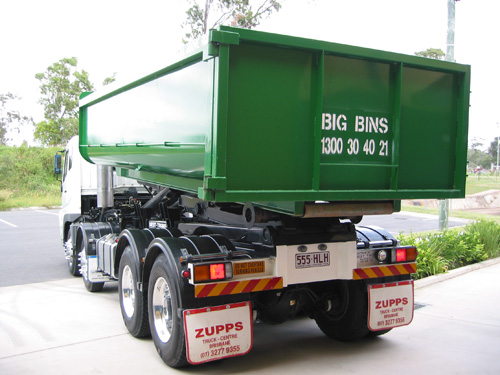 Big Bins truck with 12m bin