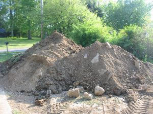 Heavy Material - Dirt, Soil with some Mixed Waste