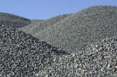 Concrete Scrap Waste - Recycled Stockpile