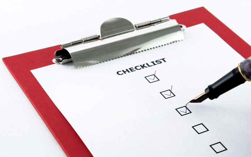 Guidelines Checklist