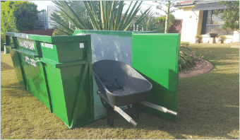 Skip Bin Hire - SPECIALISED BINS (WHAT A DIFFERENCE A DOOR MAKES!).
