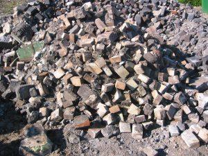 Waste Type - Bricks with Soil