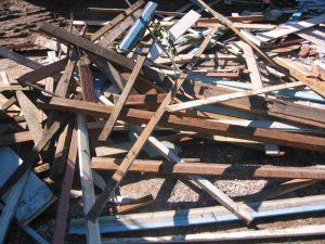 Demolition Timber Waste