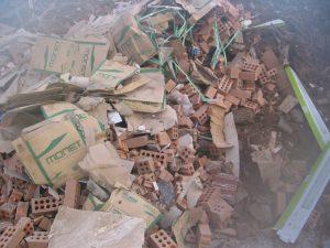 Mixed Heavy Waste with Bricks