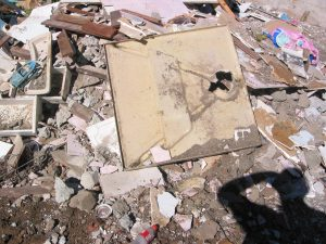 Mixed Heavy waste from Bathroom Renovation